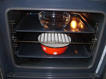 очистка внутренностей духовки