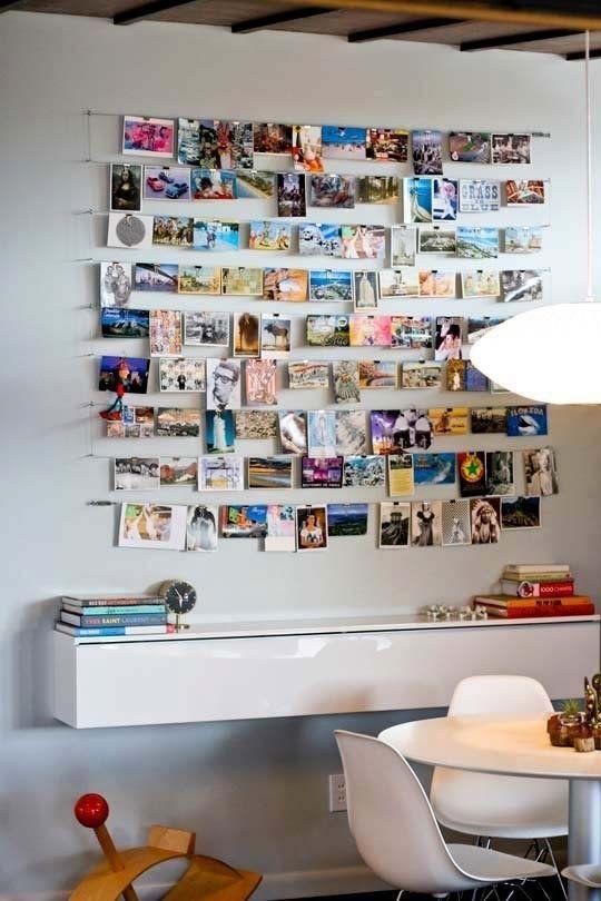 фотографии на стенах