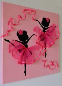 панно с балеринами