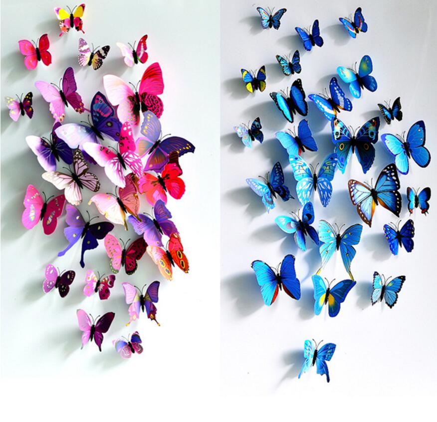 free-shipping-12pcs-pvc-font-b-3d-b-font-font-b-butterfly-b-font-font-b