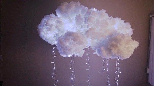 Грозовые облака прямо в доме