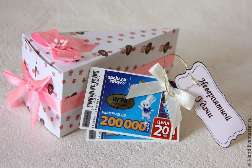 Как сделать подарок торт с пожеланиями 68