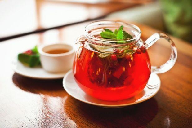 клюквенный_чай