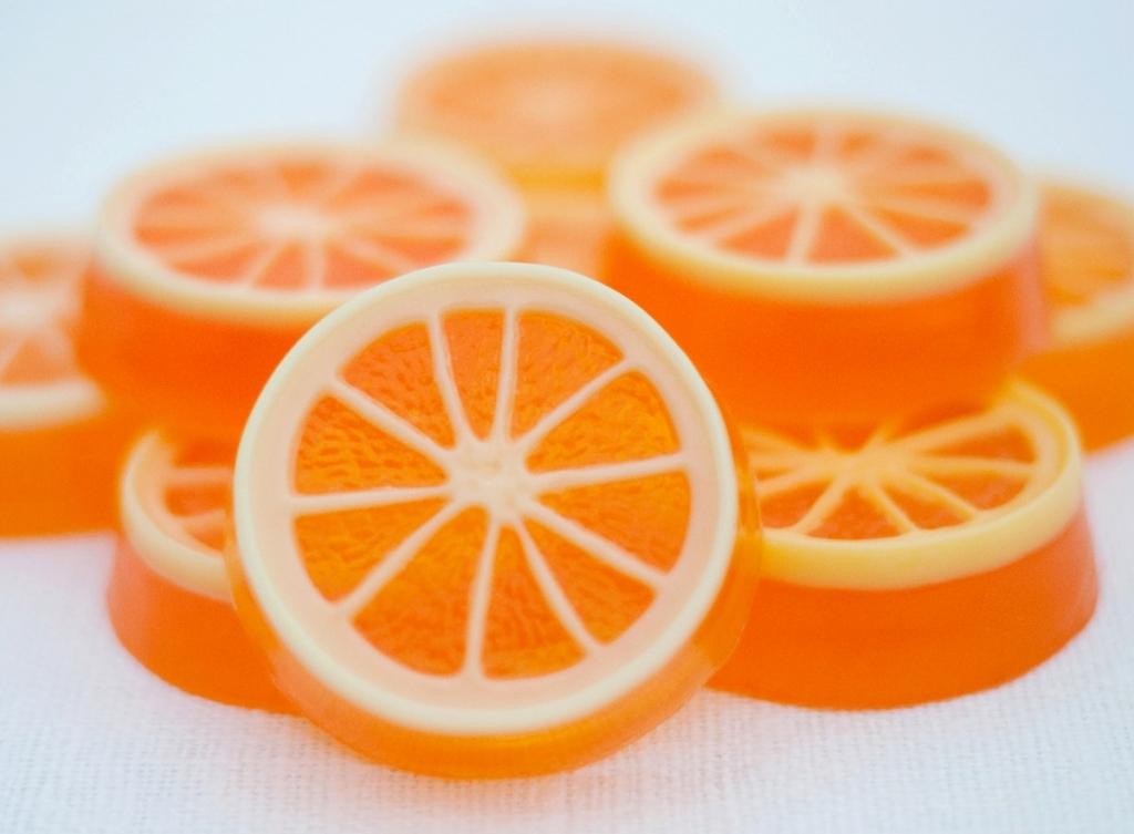 Апельсин мыло