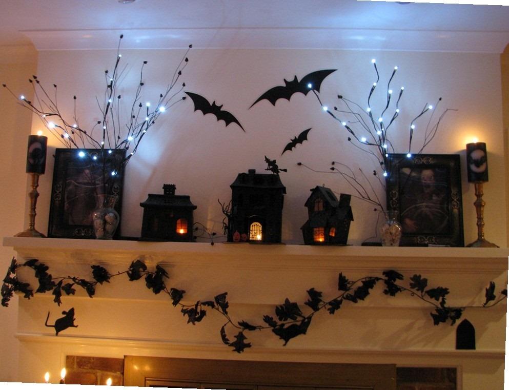 Декорации своими рука для хэллоуина 497