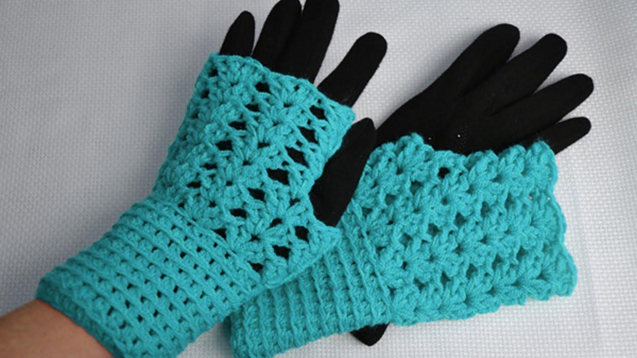 Страна мам вязание перчаток 90