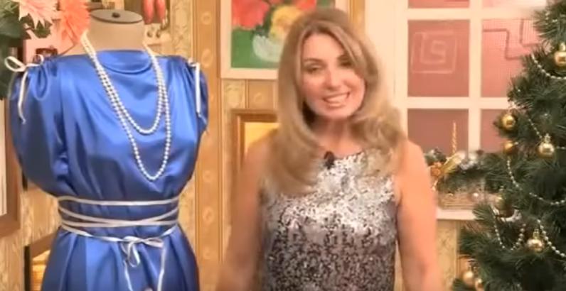 Новогодние платье своими руками быстро