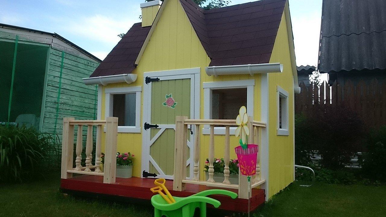 Как построить домик для девочки своими руками 95