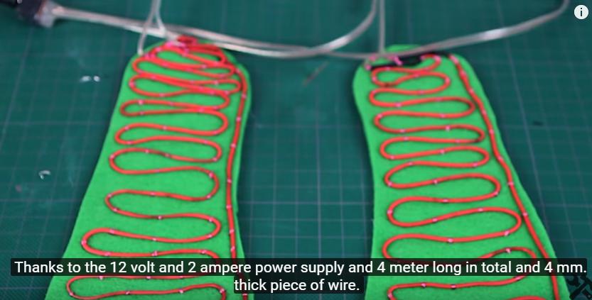 Как сделать обувь с подогревом своими руками 37
