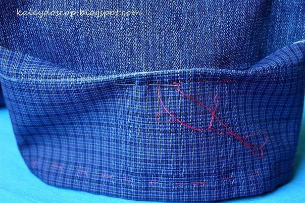 Удлинить джинсы