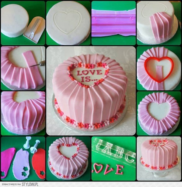 Идеи как украсить торт своими руками 578