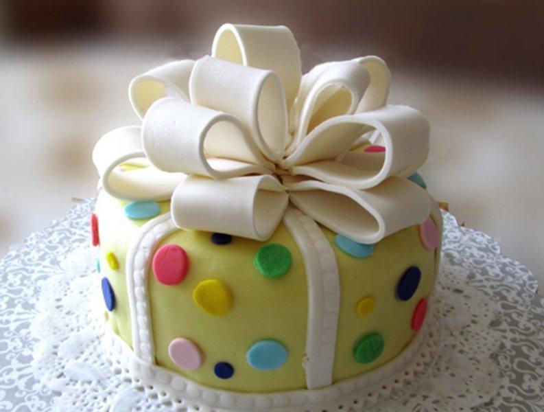 Торт на день рождения с мастикой рецепт