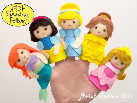 Как сшить кукол для пальцев