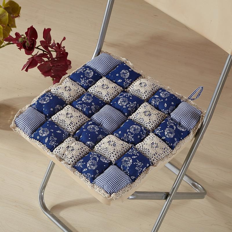 Пэчворк подушки для стульев своими руками