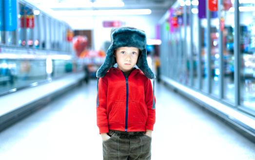 Lost in the Supermarket - Furry Hat