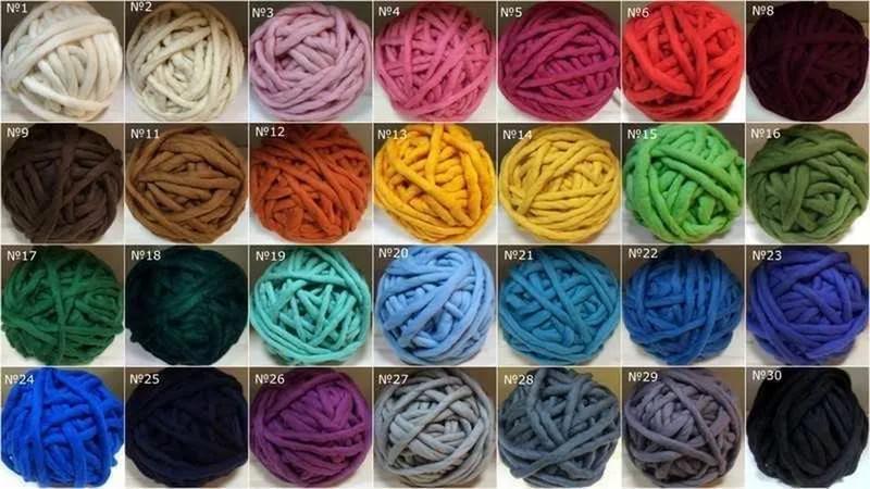 Пряжа для объёмного вязания 15