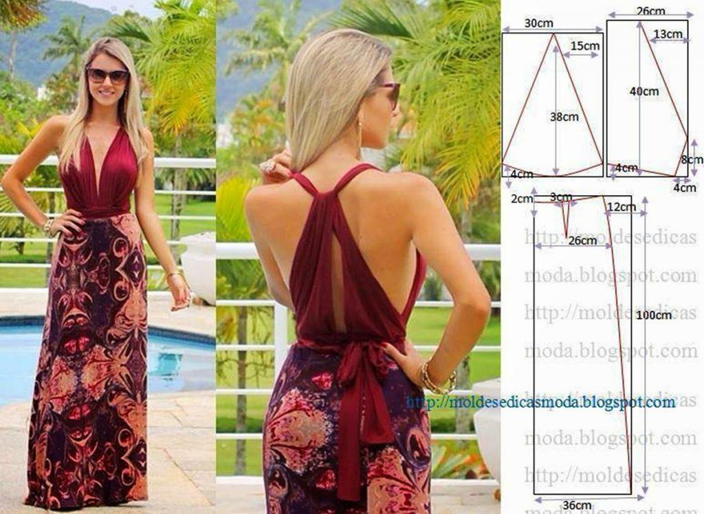 Как сшить летнее платье просто и быстро