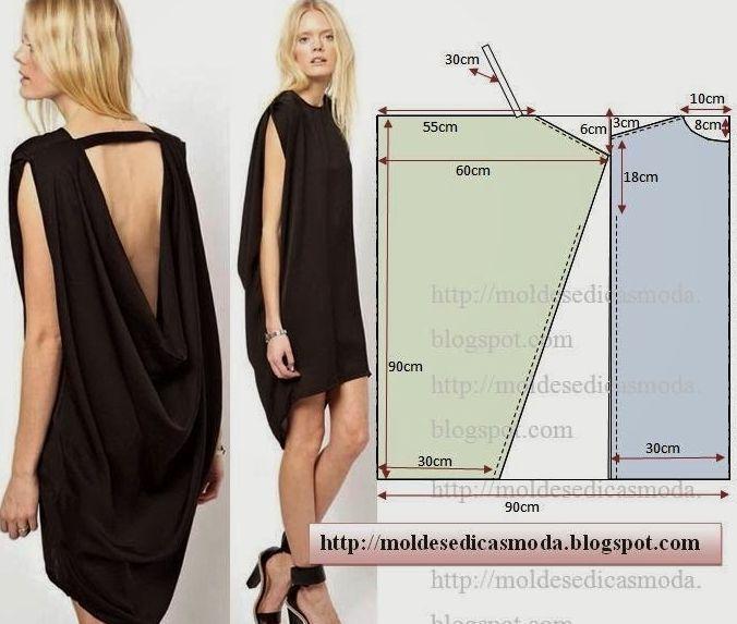 Выкройки платья простой крой фото 789