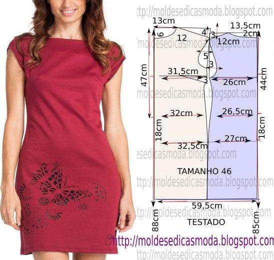 Выкройка летнего платья для начинающих пошаговая инструкция фото