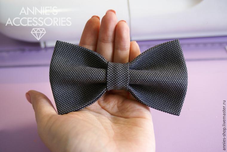Шьем галстук-бабочку своими руками