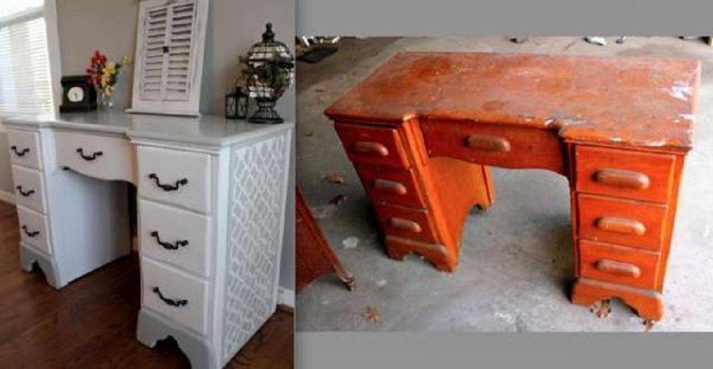 Как с старой мебели сделать новую своими руками