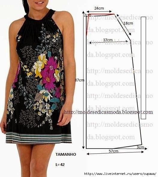 Платье своим руками шить легко
