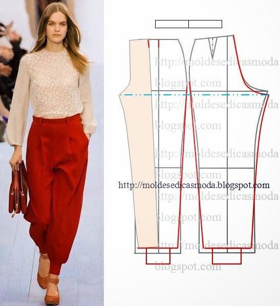 Шьем женские брюки своими руками