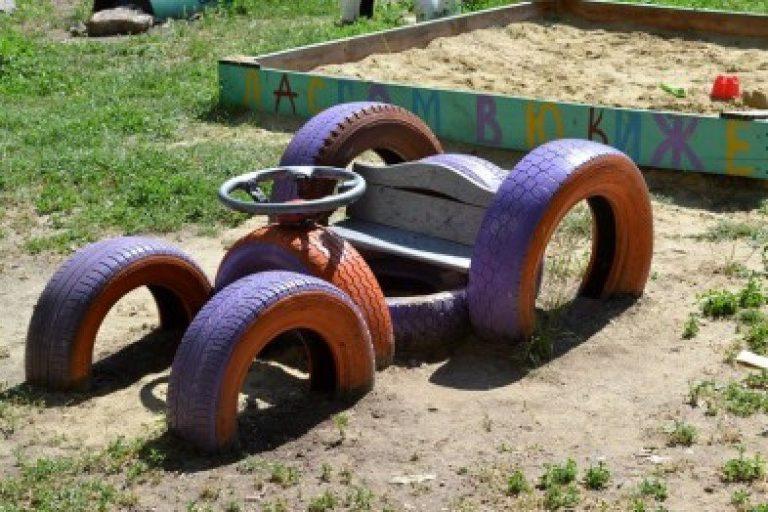 Мотоцикл для детского сада своими руками 7