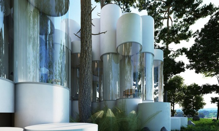 house-cylinder-by-town-and-concrete-and